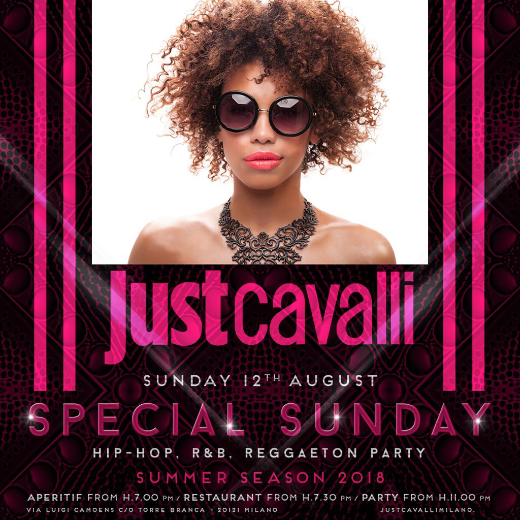 Domenica Aperitivo Just Cavalli Milano - #bystaff.it
