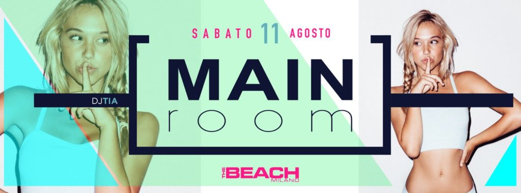Sabato The Beach Milano estivo - #bystaff.it