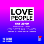 Opening Love People |Sabato Club Haus 80's Milano