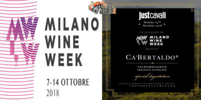 Domenica 14-10 Milano Wine Week Closing Party | Domenica 14-10-18 Just Cavalli