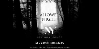 Halloween New York Lounge Milano