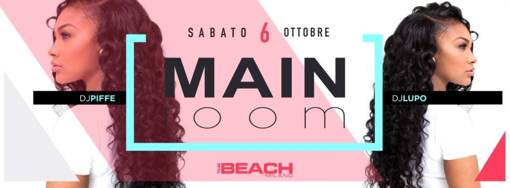 Sabato 6.10.18 The Beach Club Milano