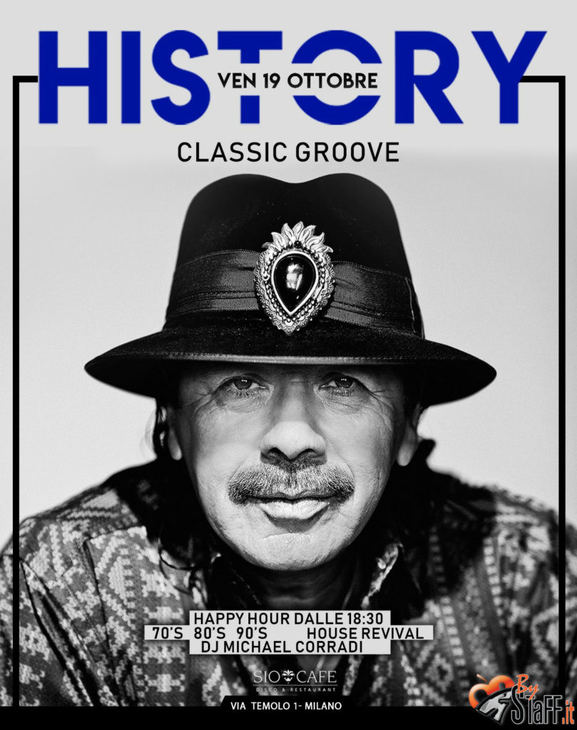 History&Cabaret | Aperitivo & Serata Sio Cafè | Venerdì 19 Ottobre 2018