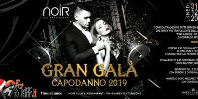 Capodanno Noir Club Lissone 2019