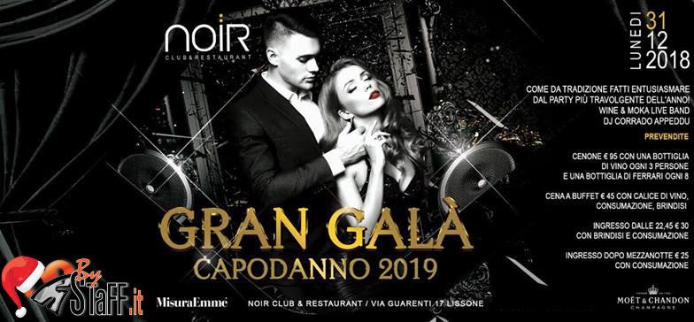 Capodanno Noir Club Lissone 2019
