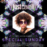 Domenica 18.11.18 Just Cavalli