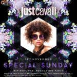 Domenica 18.11.18 Just Cavalli