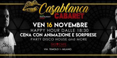 Venerdì Sio Cafè Milano History&Cabaret
