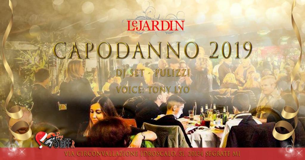 Capodanno Le jardin Milano 2019