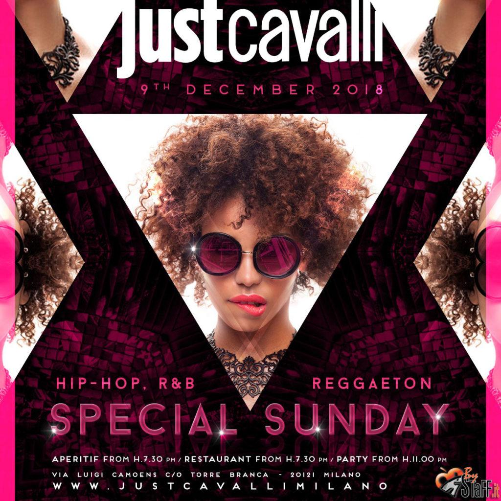 Domenica 9.12.18 Just Cavalli Milano