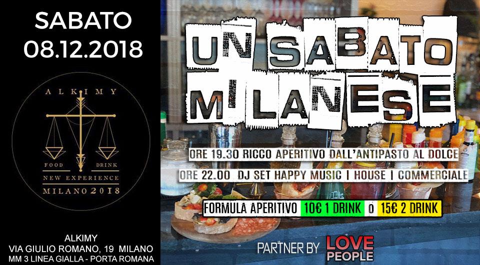 Un Sabato Milanese a 90. Alkimy Milano