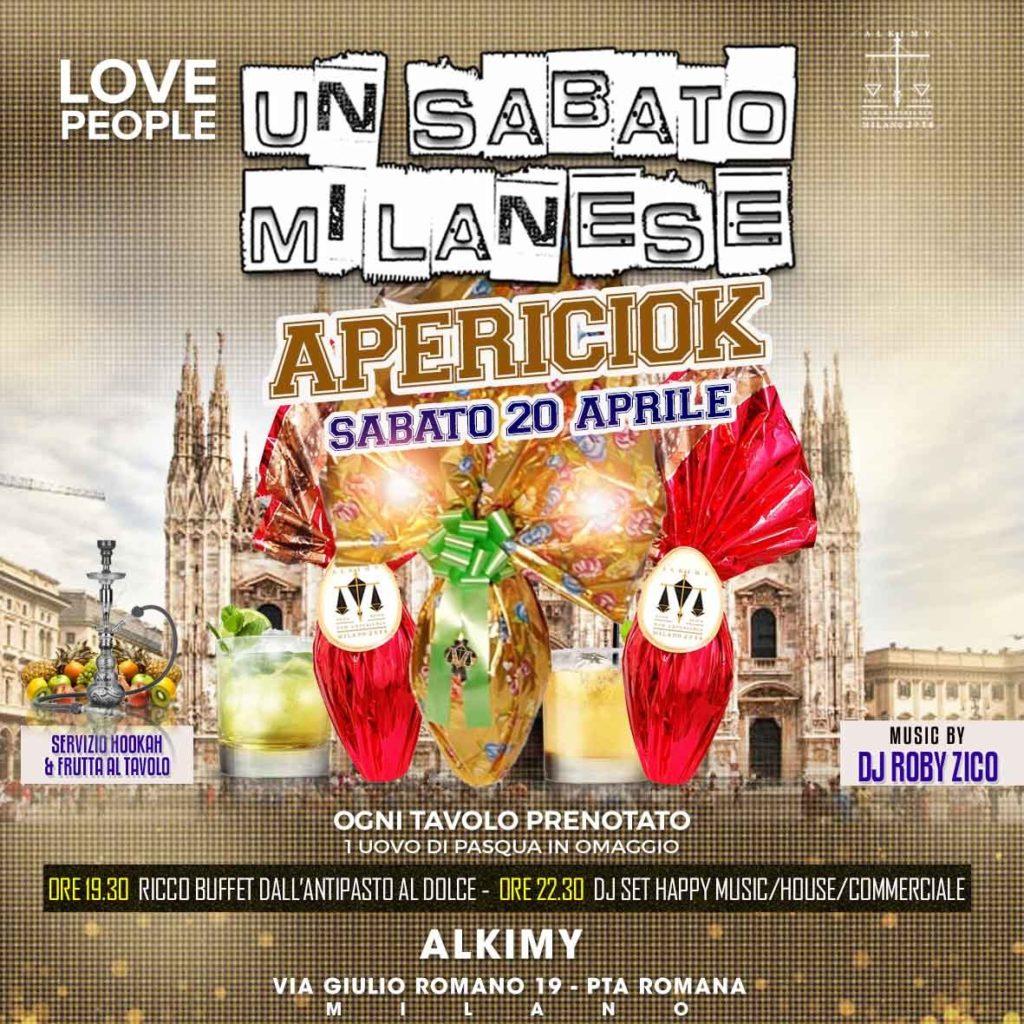 Sabato Alkimy Milano