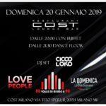 Domenica Cost Milano 20/01/2019