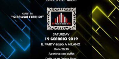 Sabato Stadium Milano 19/01/2019
