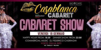 Venerdì Sio Cafe Milano 18/01/2019