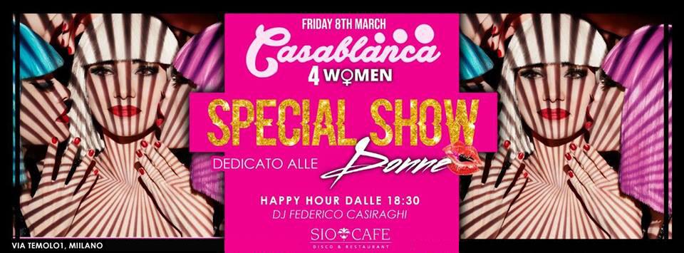 Festa della Donna Sio Cafè Milano