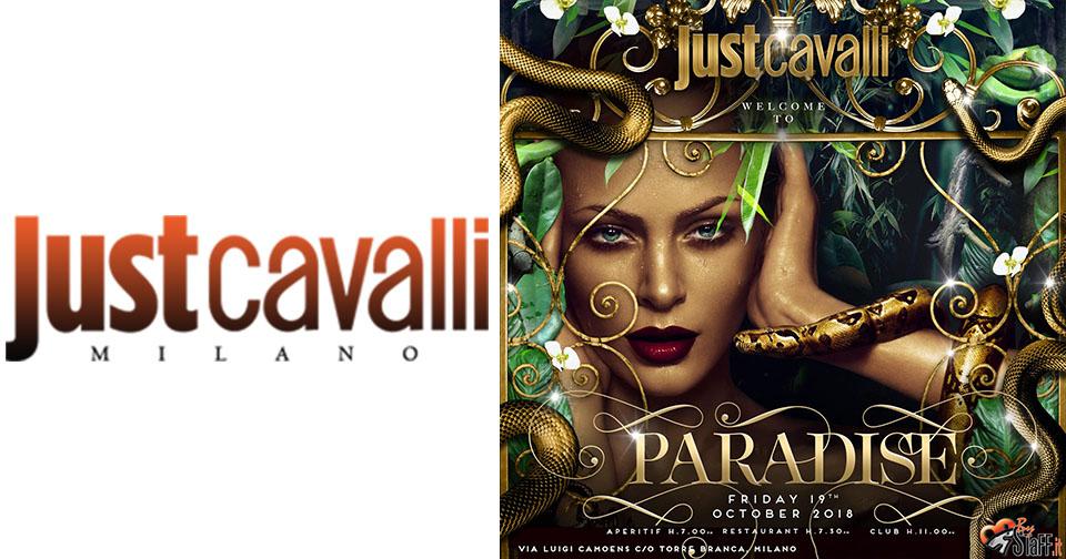 Venerdì Just Cavalli Milano