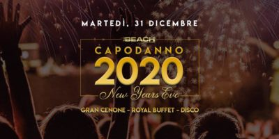 Capodanno The Beach. Info +39 3934601143