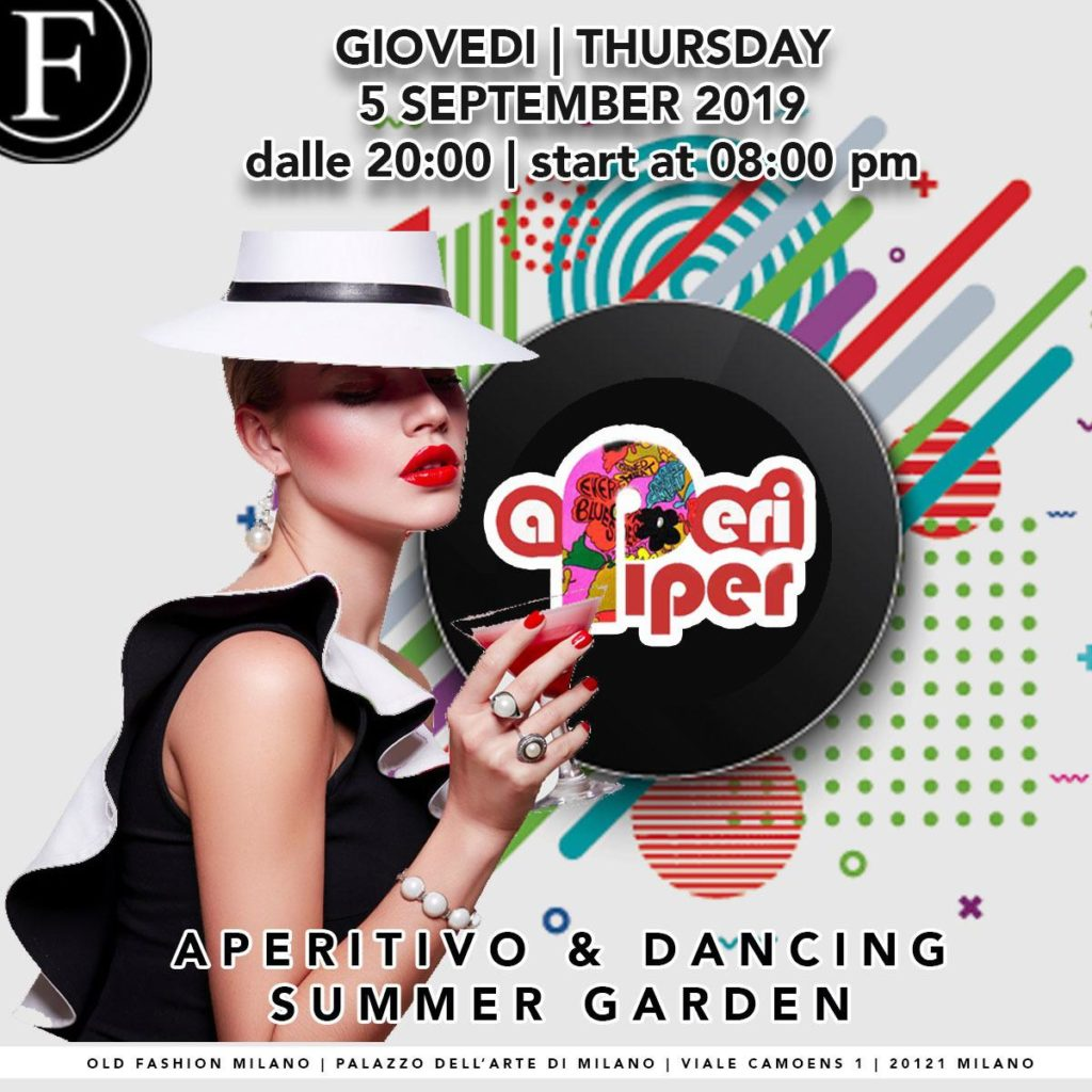 Giovedì Old Fashion Milano serata APERIPEOPLE