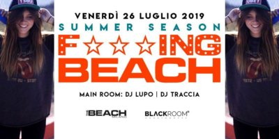 Venerdì The Beach Milano   Info e prenotazioni +39 393 4601143