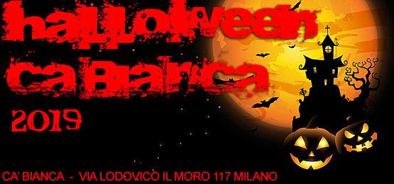 Halloween Cà Bianca Milano 2019