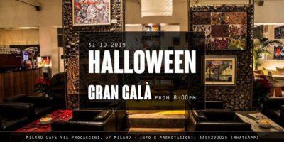 Halloween Milano Cafè 2019