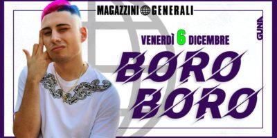 Boro Boro live ai Magazzini Generali di Milano il 06 Dicembre 2019
