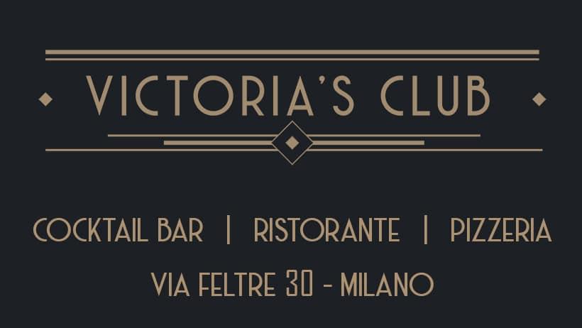 Venerdì Victoria's Milano. Ristorante Lounge Bar +39 3934601143