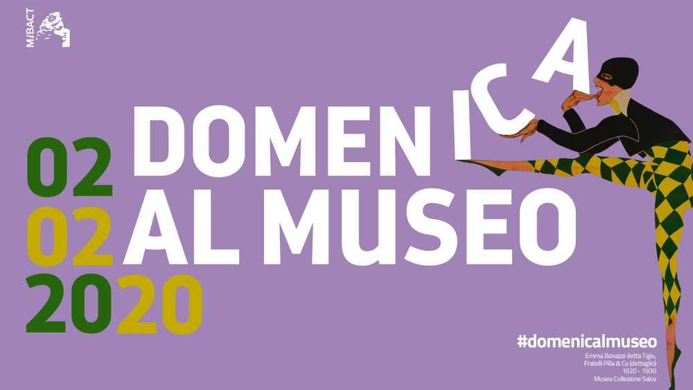 Musei gratis Domenica 2 Febbraio 2020