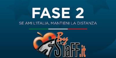 Fase 2 - Se ami l'Italia, mantieni le distanze.