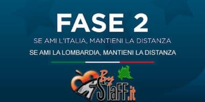 Fase 2 - Se ami la Lombardia, mantieni le distanze.